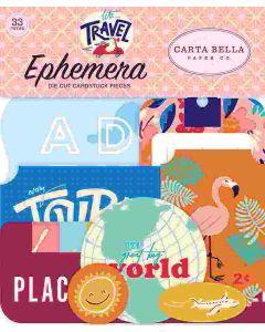 Let's Travel Ephemera - Carta Bella