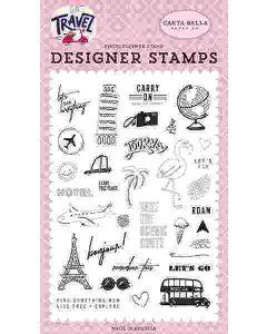 Let's Go Stamp Set - Let's Travel - Carta Bella