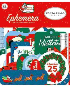 Merry Christmas Ephemera - Carta Bella