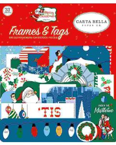 Merry Christmas Frames & Tags - Carta Bella