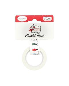 Christmas Lights Washi Tape - Merry Christmas - Carta Bella