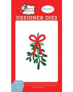 Mistletoe & Bow Die Set - Merry Christmas - Carta Bella