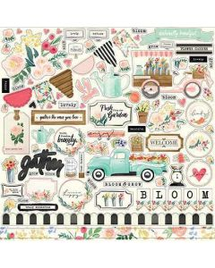 Flower Market Element Stickers