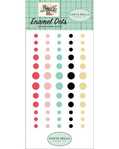 Flower Market Enamel Dots