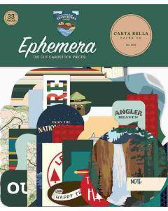 Outdoor Adventures Ephemera - Carta Bella*