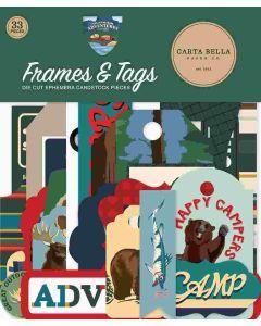 Outdoor Adventures Frames & Tags - Carta Bella*