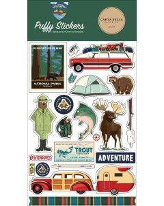 Outdoor Adventures Puffy Stickers - Carta Bella*