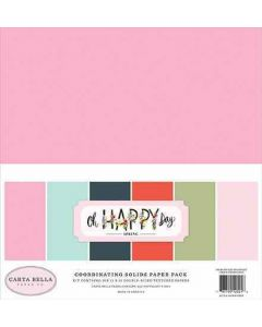 Oh Happy Day Solids Kit - Carta Bella*