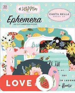 Oh Happy Day Ephemera - Carta Bella*