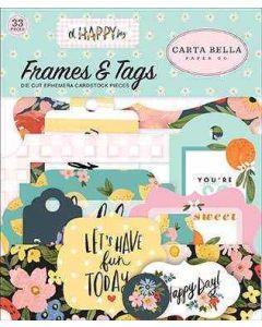 Oh Happy Day Frames & Tags - Carta Bella*