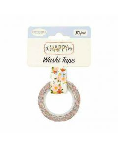 Happy Day Floral Washi Tape - Oh Happy Day - Carta Bella*