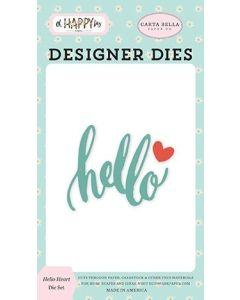Hello Heart Dies - Oh Happy Day - Carta Bella*