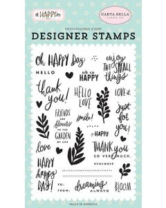 Oh Happy Day Stamps - Carta Bella*