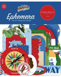 Our Travel Adventure Ephemera - Carta Bella*