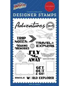 World Explorer Stamps - Our Travel Adventure - Carta Bella*