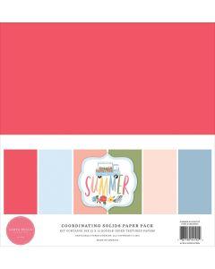 Summer Solids Kit - Carta Bella*