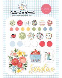 Summer Adhesive Brads - Carta Bella*