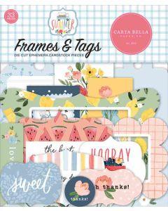 Summer Frames & Tags - Carta Bella*