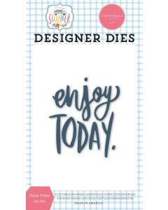 Enjoy Today Frames Dies - Summer - Carta Bella*