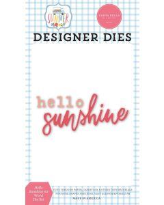 Hello Sunshine #2 Dies - Summer - Carta Bella*