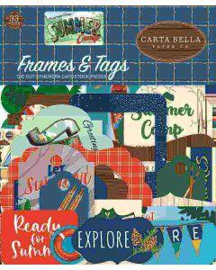 Summer Camp Frames & Tags - Carta Bella*