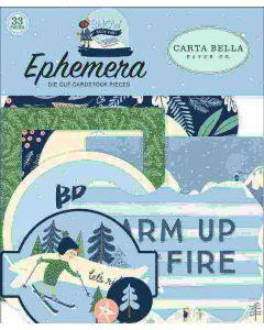 Snow Much Fun Ephemera - Carta Bella
