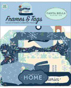 Snow Much Fun Frames & Tags - Carta Bella