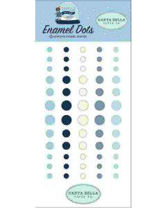 Snow Much Fun Enamel Dots - Carta Bella