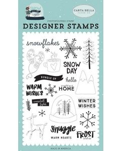 Frost And Ice Stamp Set - Snow Much Fun - Carta Bella