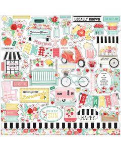 Summer Market Element Sticker - Carta Bella*