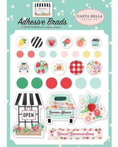 Summer Market Adhesive Brads - Carta Bella*