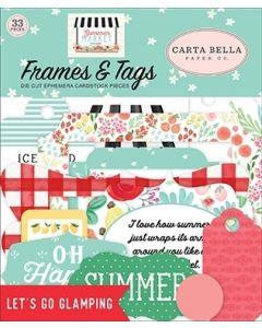 Summer Market Frames & Tags - Carta Bella*