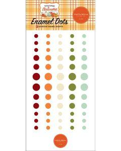 Welcome Autumn Enamel Dots - Carta Bella