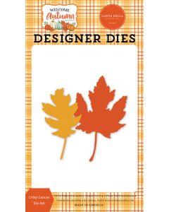 Crisp Leaves Dies - Welcome Autumn - Carta Bella