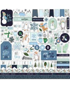 Winter Market Element Stickers - Carta Bella