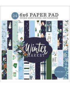 "Winter Market 6"" x 6"" Paper Pad - Carta Bella"
