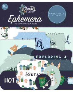 Winter Market Ephemera - Carta Bella