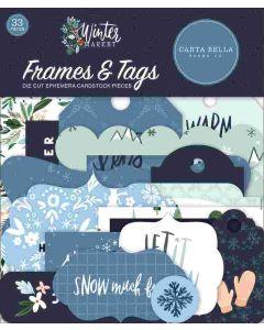 Winter Market Frames & Tags - Carta Bella