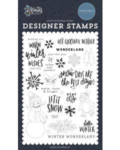 Warm Winter Wishes Stamps - Winter Market - Carta Bella