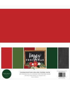Happy Christmas Solids Kit - Carta Bella