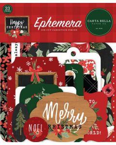 Happy Christmas Ephemera - Carta Bella