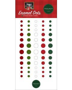 Happy Christmas Enamel Dots - Carta Bella
