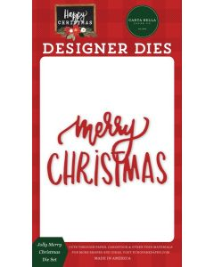 Jolly Merry Christmas Dies - Happy Christmas - Carta Bella
