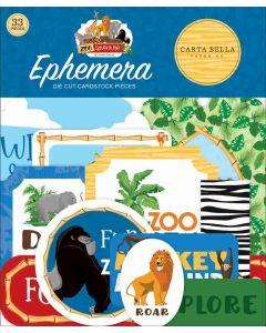 Zoo Adventure Ephemera - Carta Bella