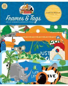 Zoo Adventure Frames & Tags - Carta Bella