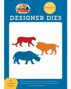 Zoo Animals #1 Dies - Zoo Adventure - Carta Bella