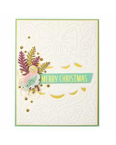 Classic Christmas Cut and Emboss Folder -2019 Holiday - Spellbinders