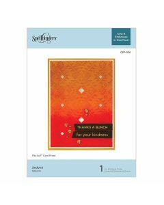 Sedona Cut & Emboss Folder - Spellbinders