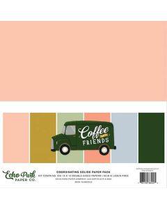 Coffee & Friends Solids Kit - Echo Park*
