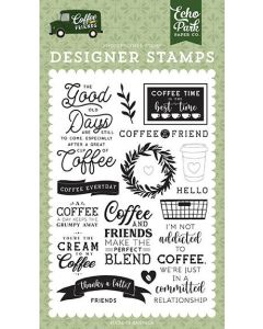 Coffee Addict Stamps - Coffee & Friends - Echo Park*
